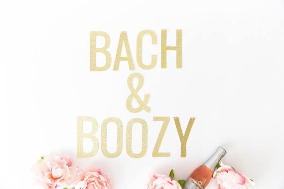 bachelorette party signs