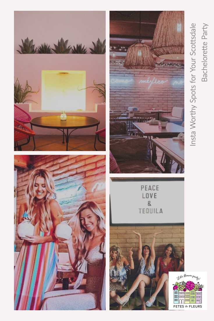 instagram worthy spots for your scottsdale bachelorette party