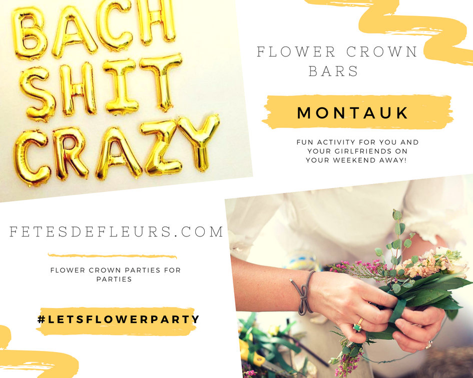 montauk flower crown parties