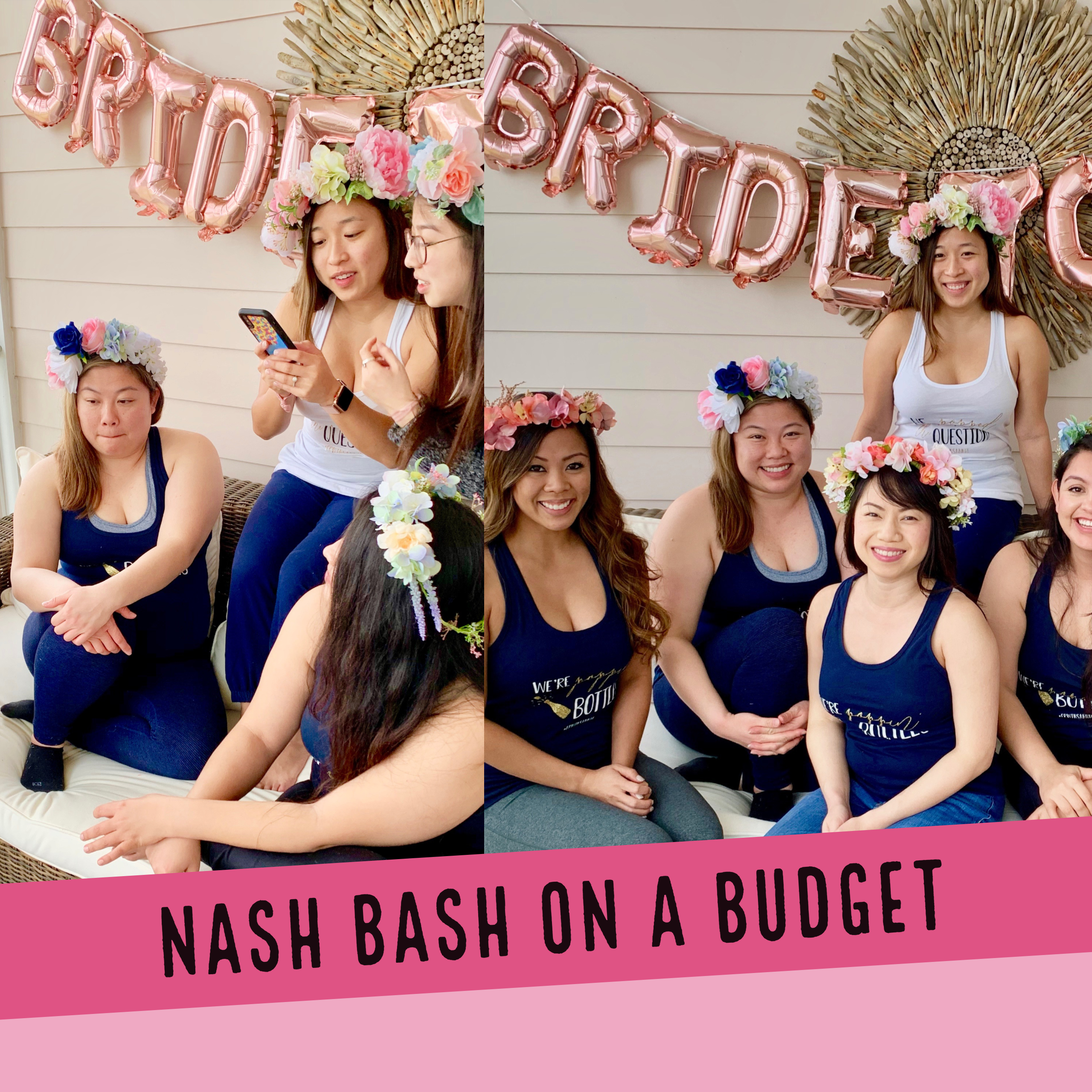 nash bash girls weekend on a budget