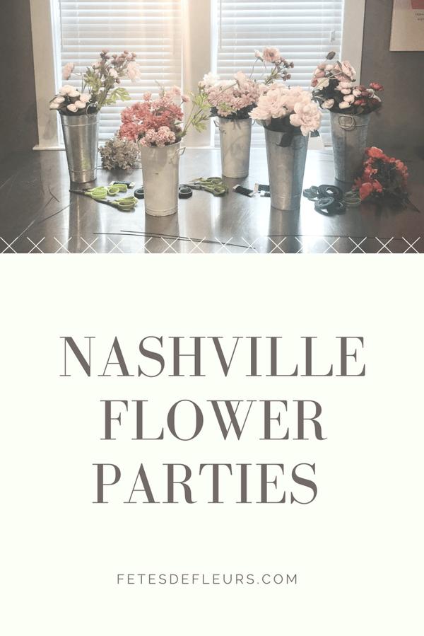 nashville flower parties