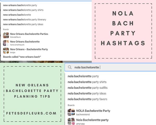 nola bachelorette party hashtags