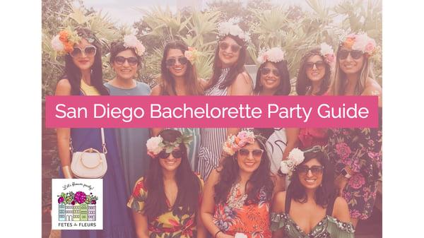 san diego bachelorette party guide