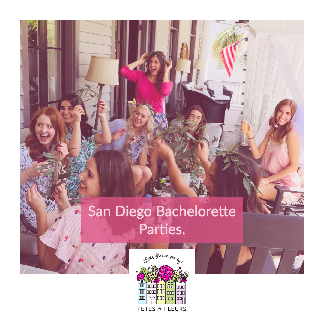 san diego bachelorette party ideas