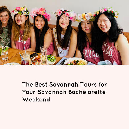 savannah bachelorette party tours