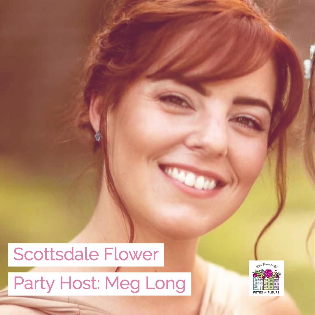 scottsdale flower party host - meg long