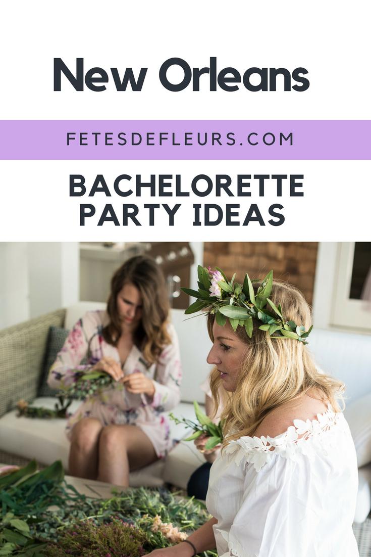 New Orleans bachelorette party