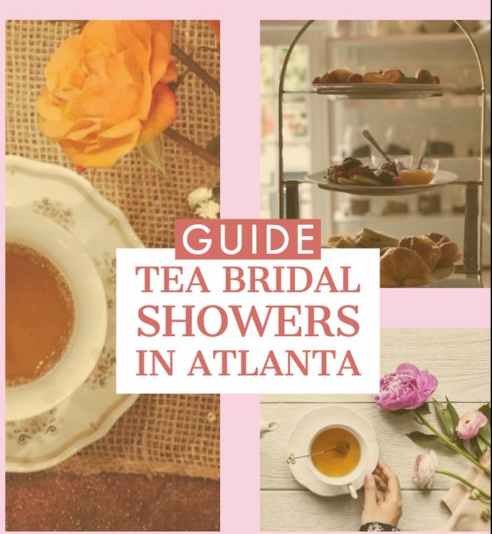 tea bridal showers in atlanta georgia