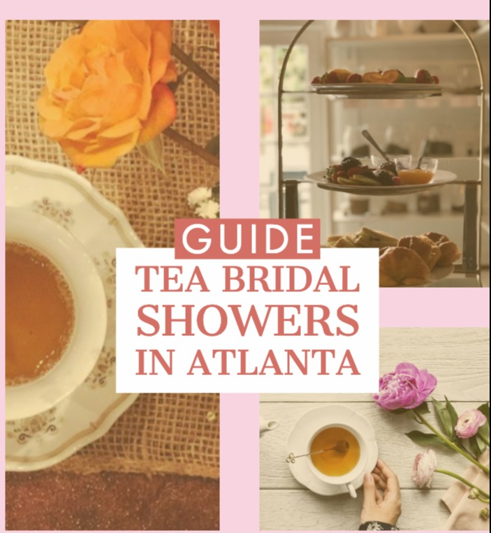 tea bridal showers in atlanta georgia