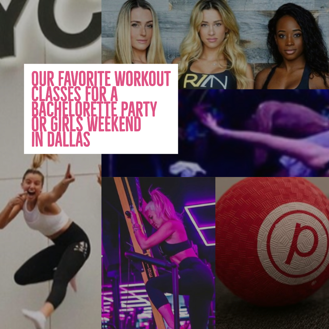 the best dallas workout classes for a dallas bachelorette or girls weekend in dallas
