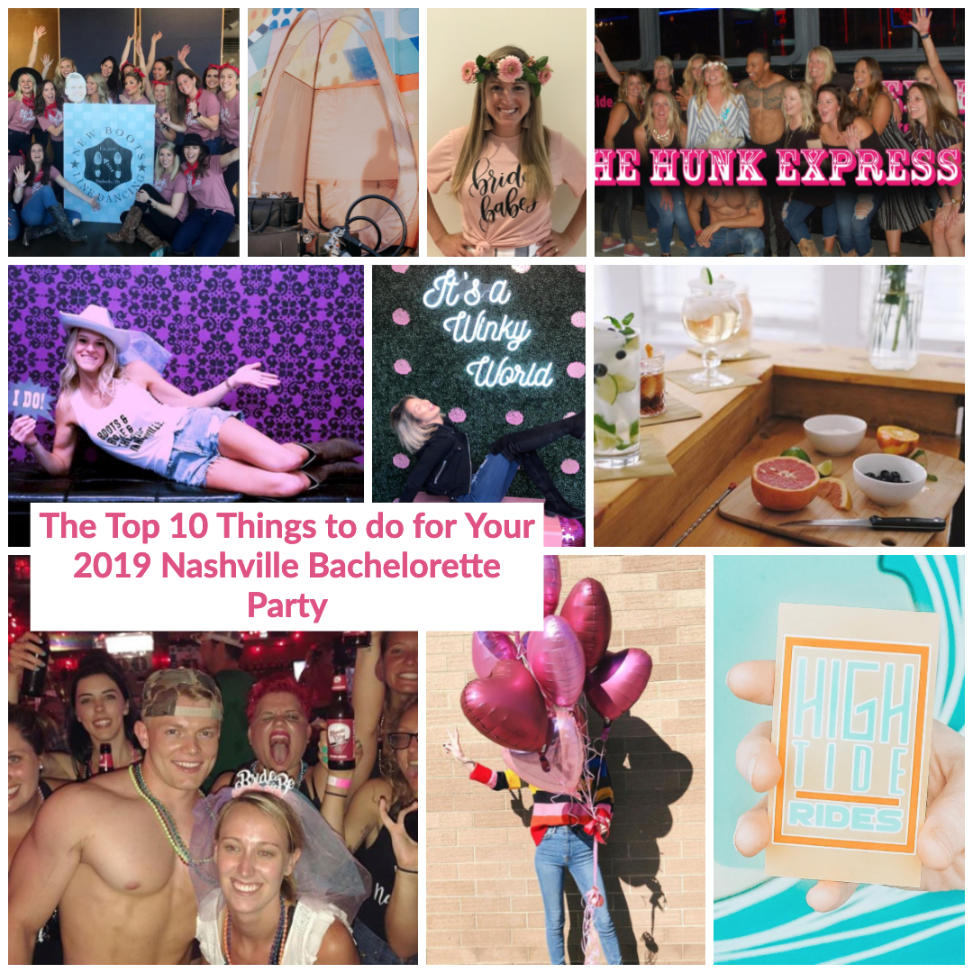the top 10 fun activities for your nashville bachelorette party weekend