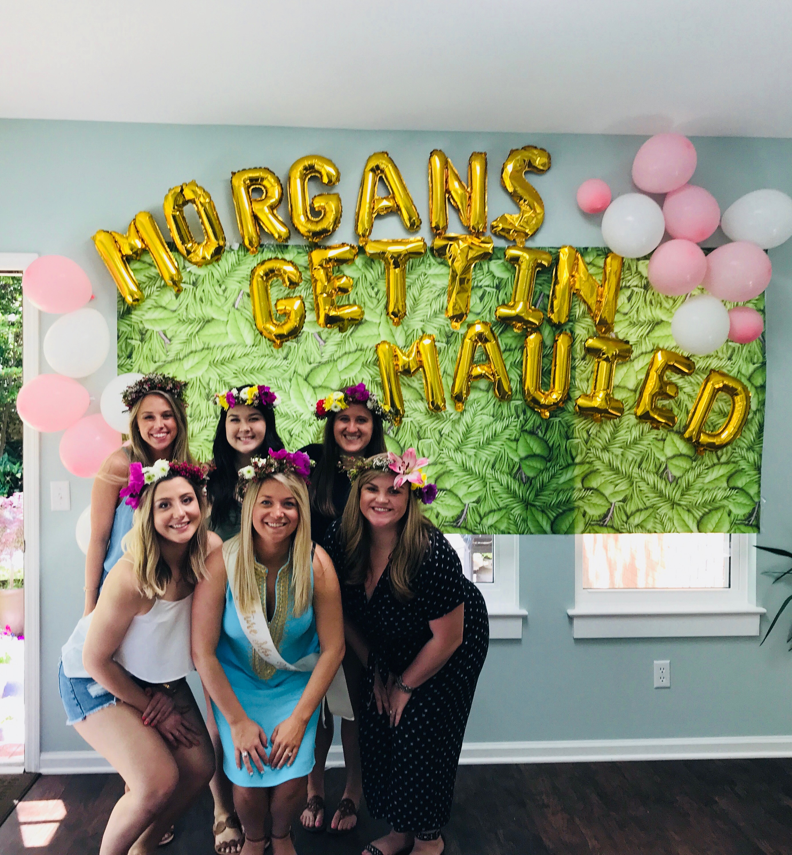 tropical bachelorette party theme