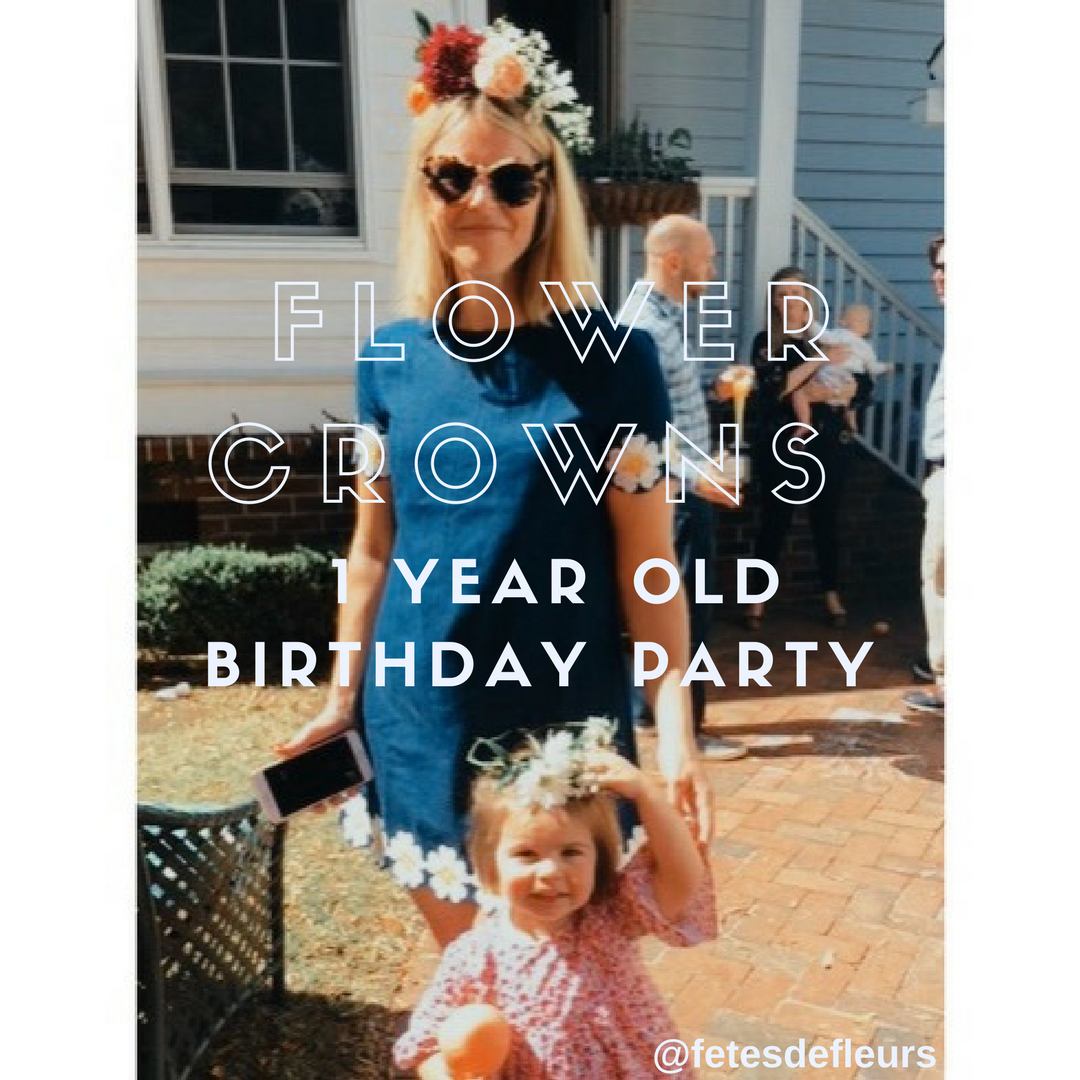 1 year old birthday party