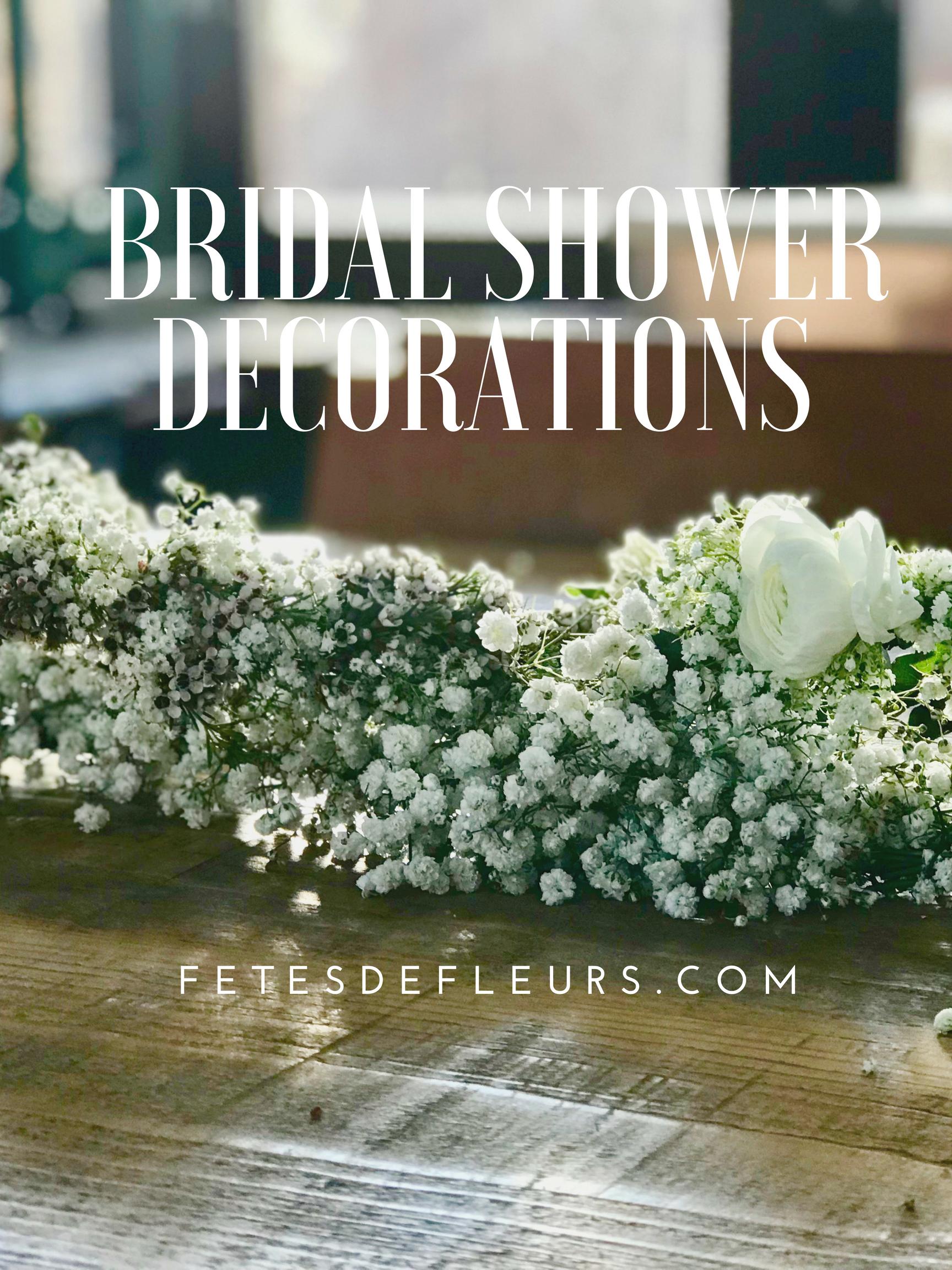 Bridal Shower Decorations