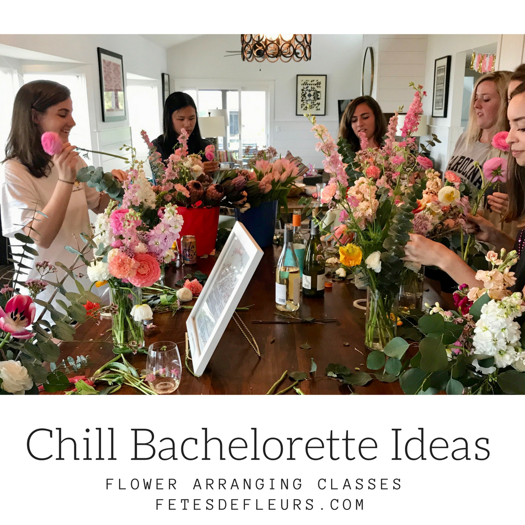 flower crown parties and bachelorette parties   relaxed bachelorette