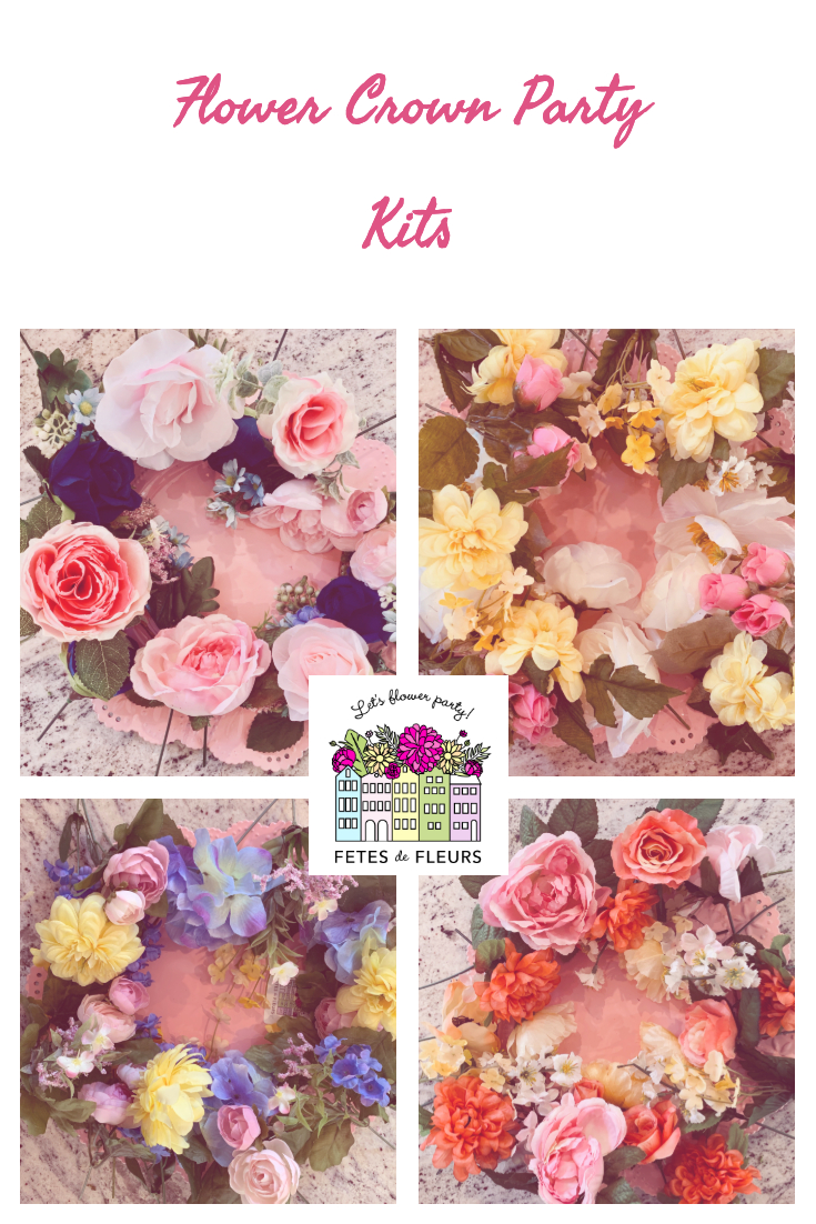 DIY Flower Crown Kits