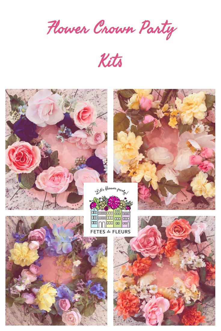DIY Flower Crown Kits