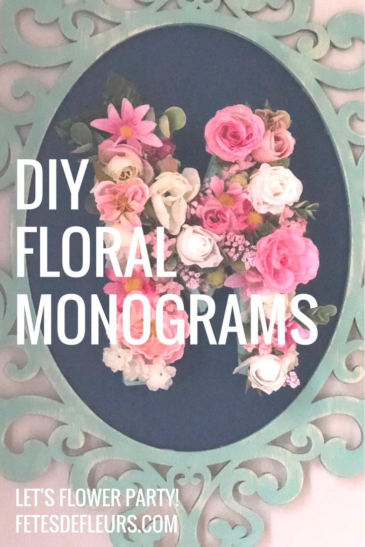 DIYFloralMonograms