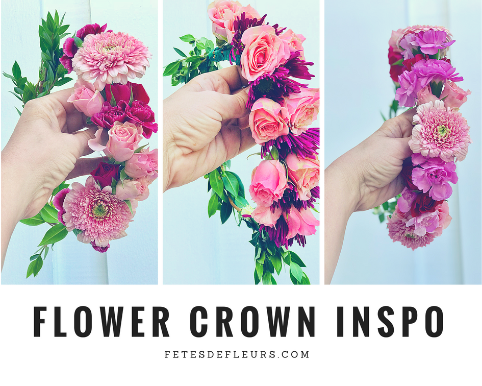 Flower Crown Inspiration