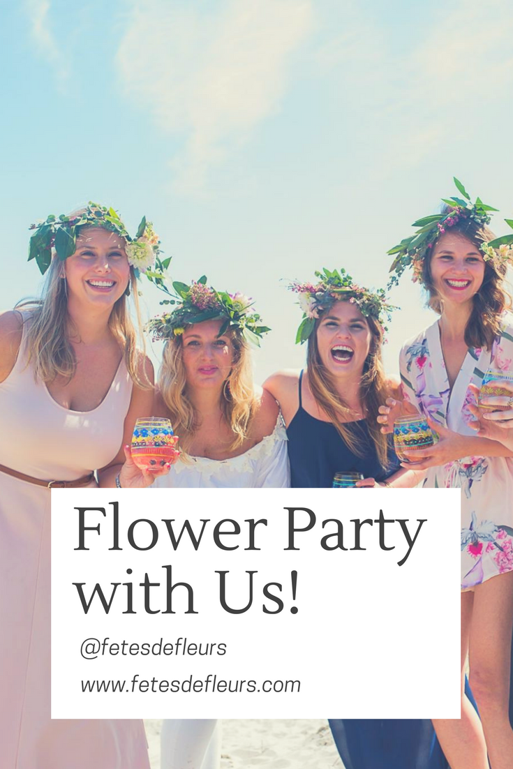 Flower Party with Us!