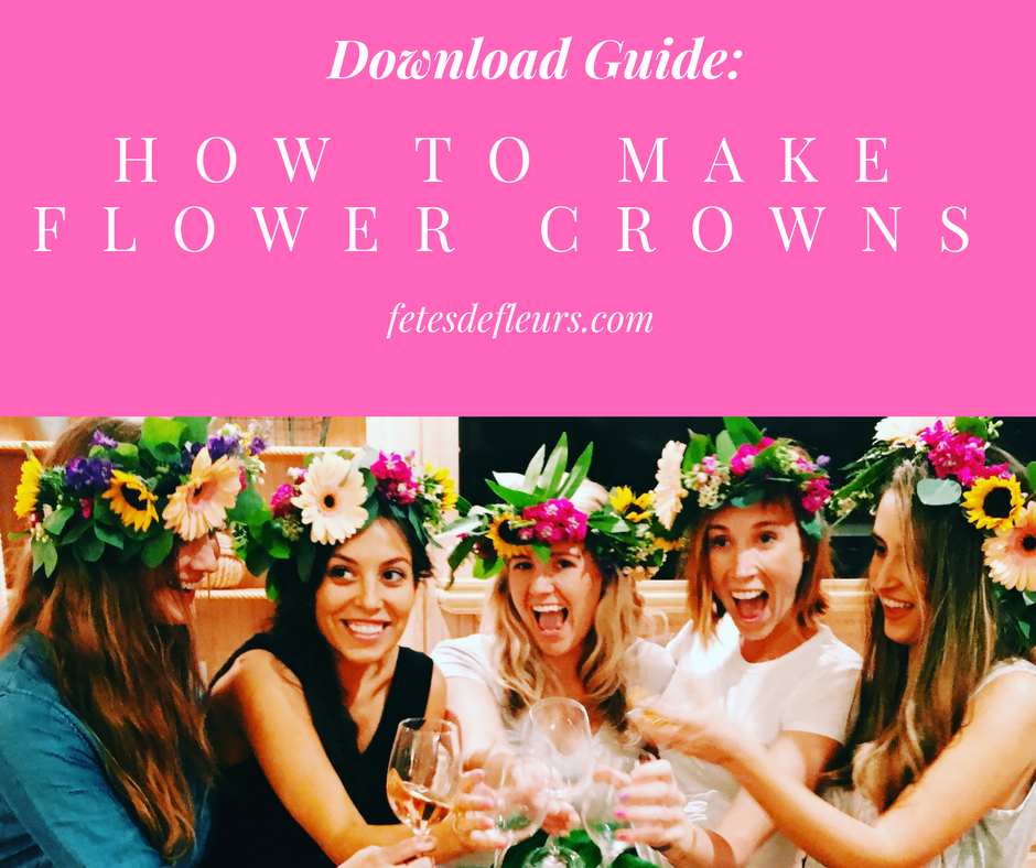 Guide- How to Make Flower Crowns