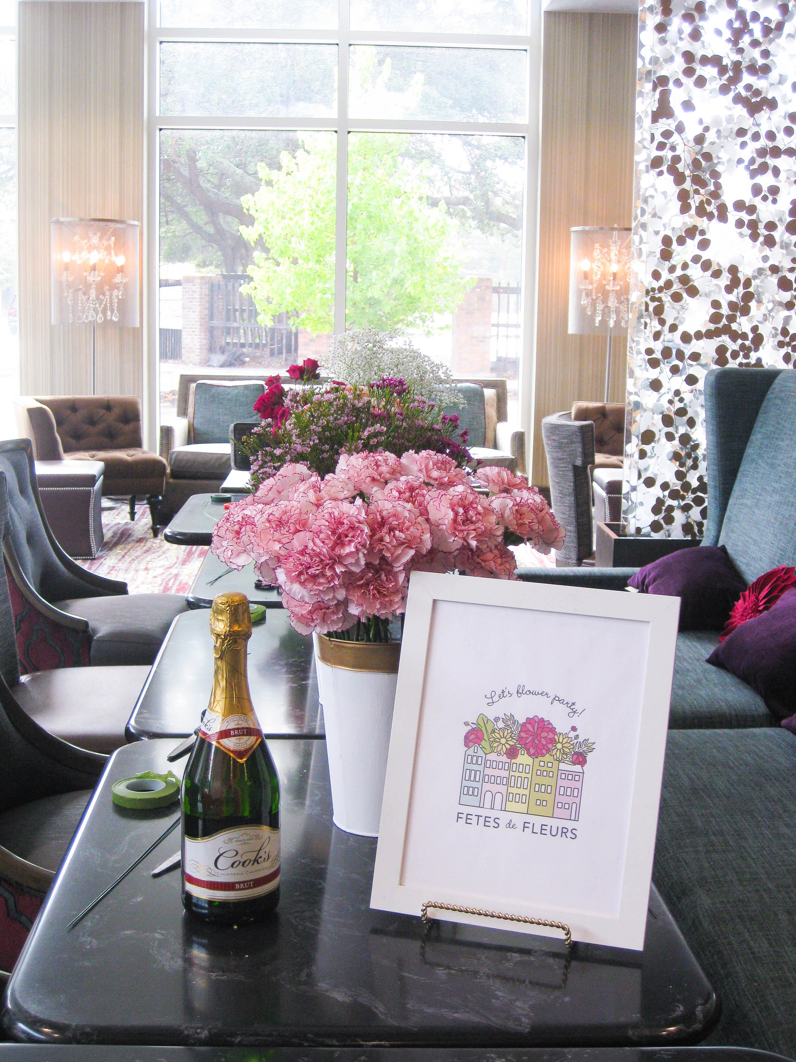 Pajama Party Bachelorette Meets Diy Floral Crown Party