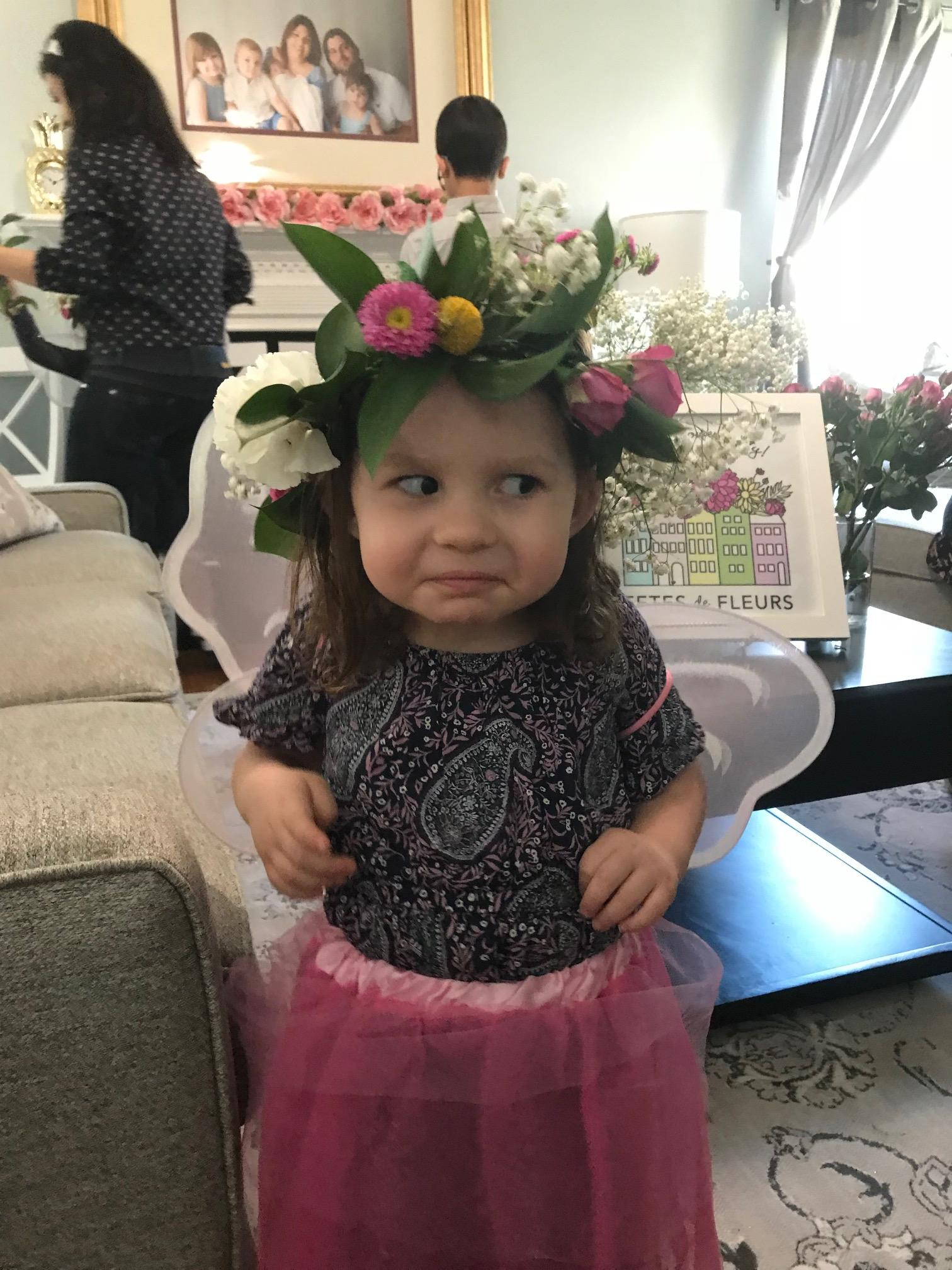 flower crowns for girls