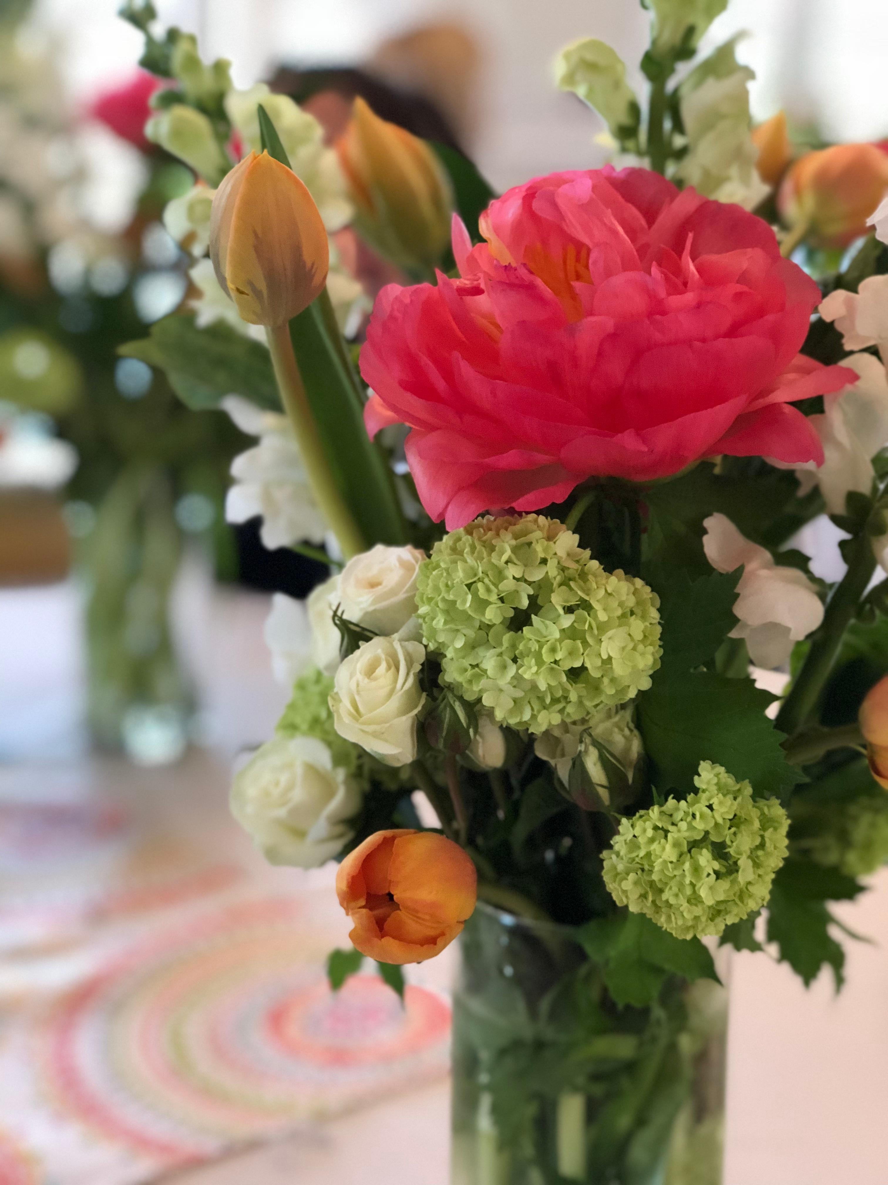 flower arranging workshops boston