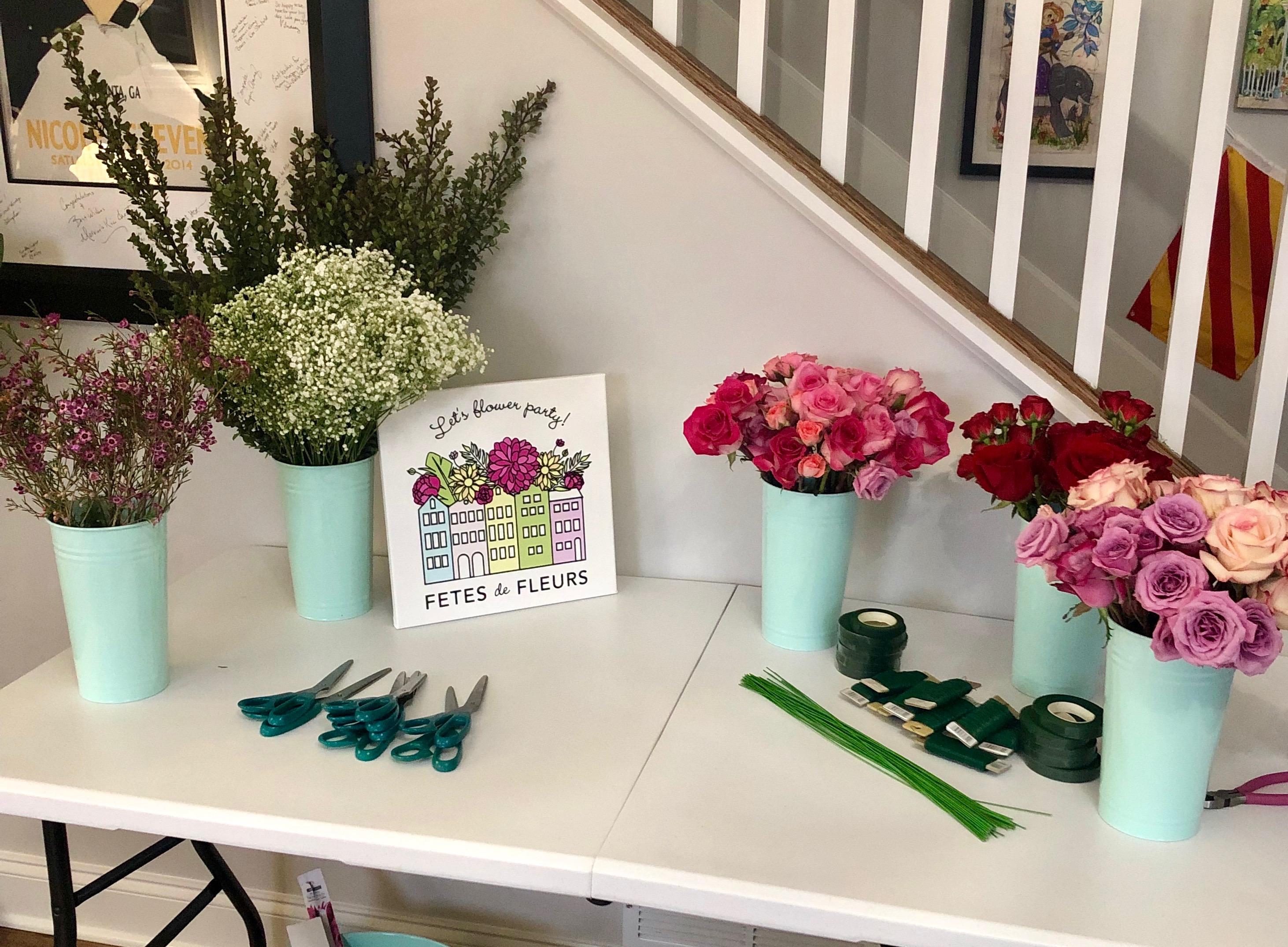 atlanta flower crown workshop