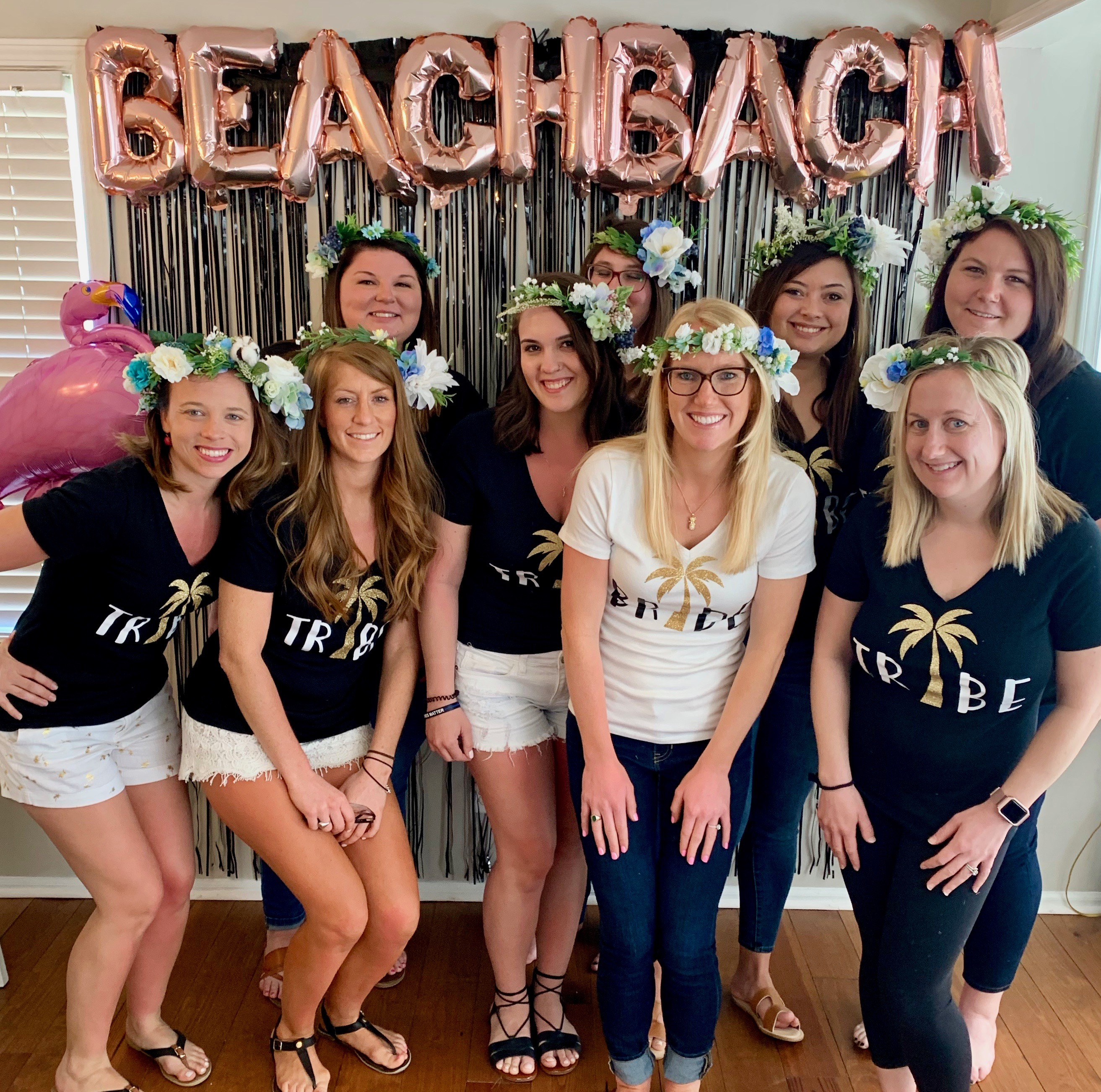 charleston bachelorette party at folly beach