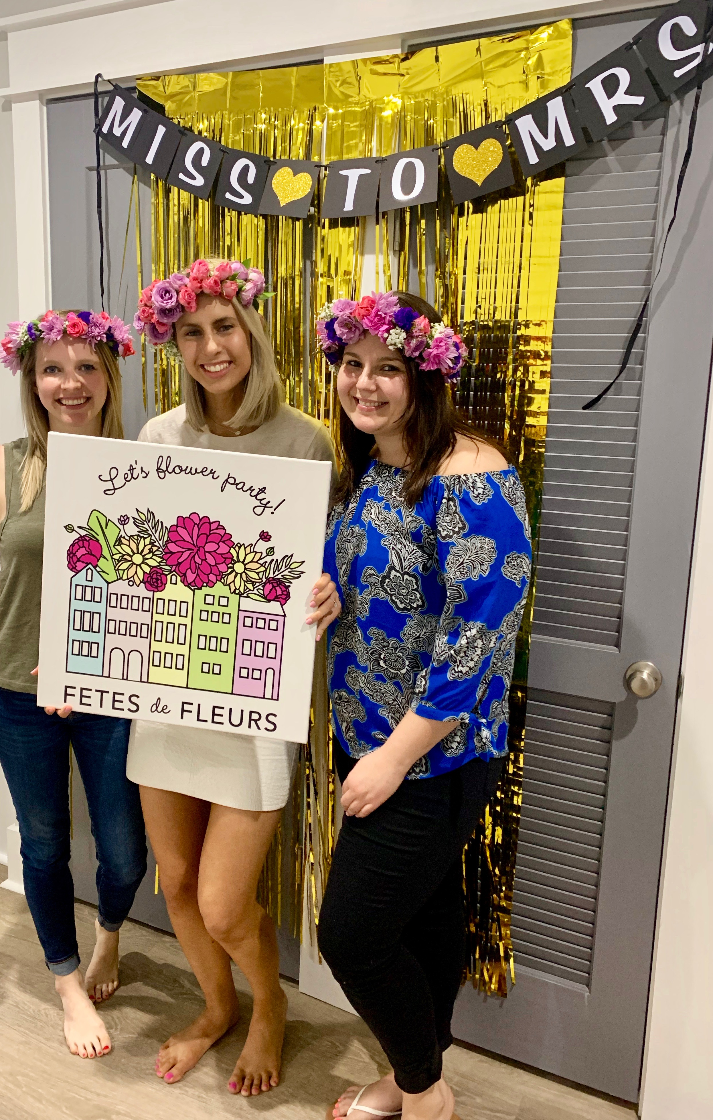 bachelorette party ideas for a miss to mrs theme