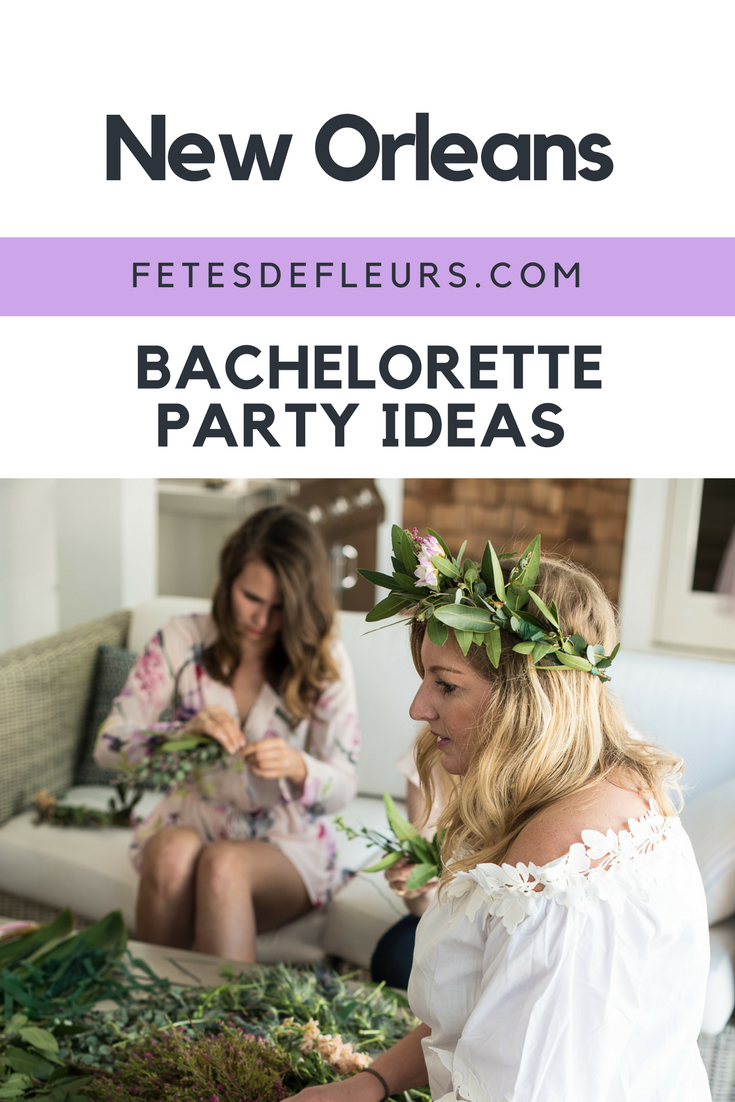 New Orleans bachelorette party