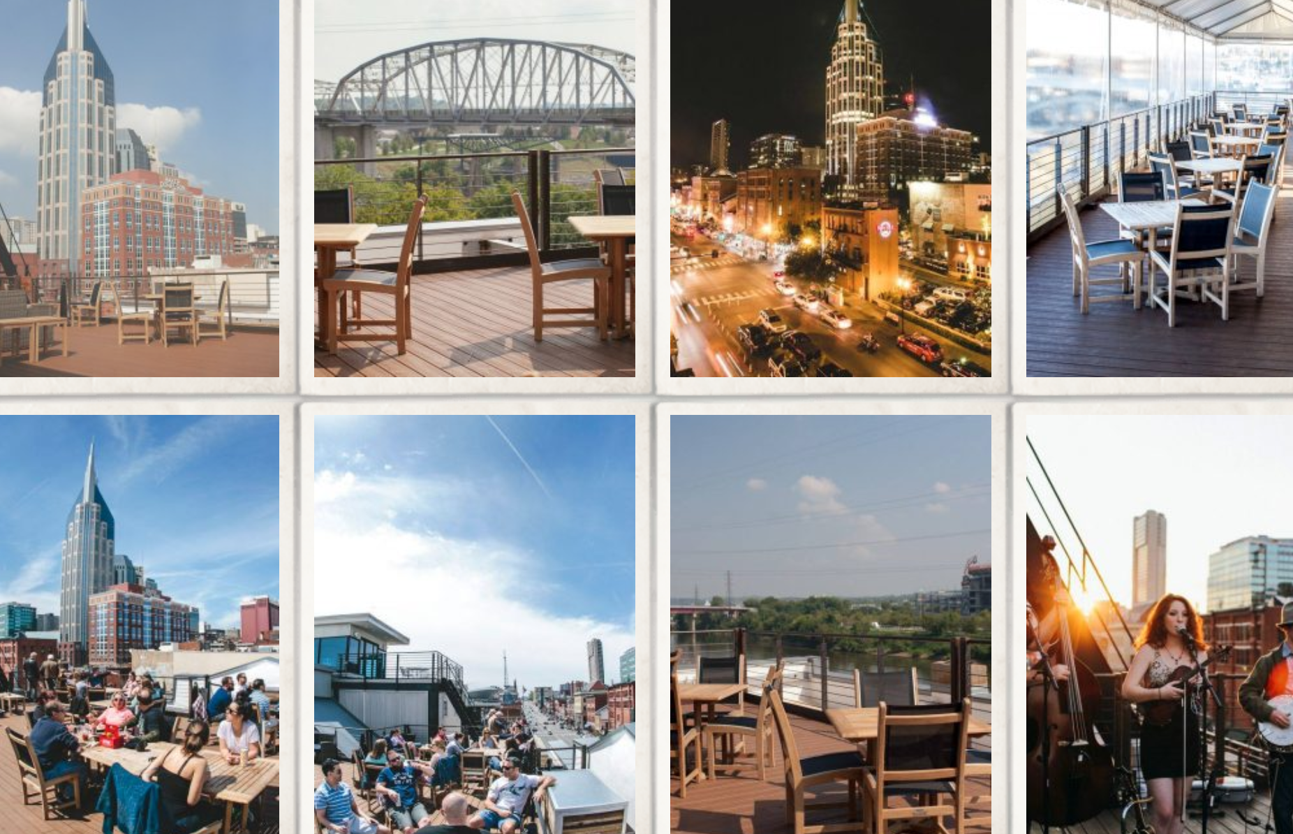 nashville rooftop bars for your nashville bachelorette party