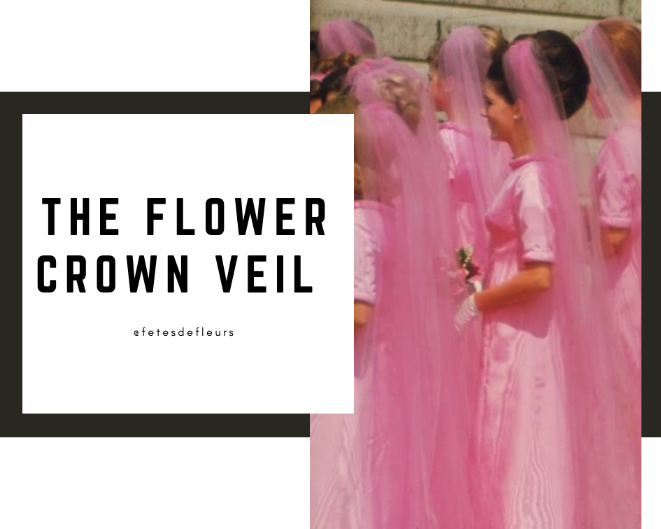 The Flower Crown Veil