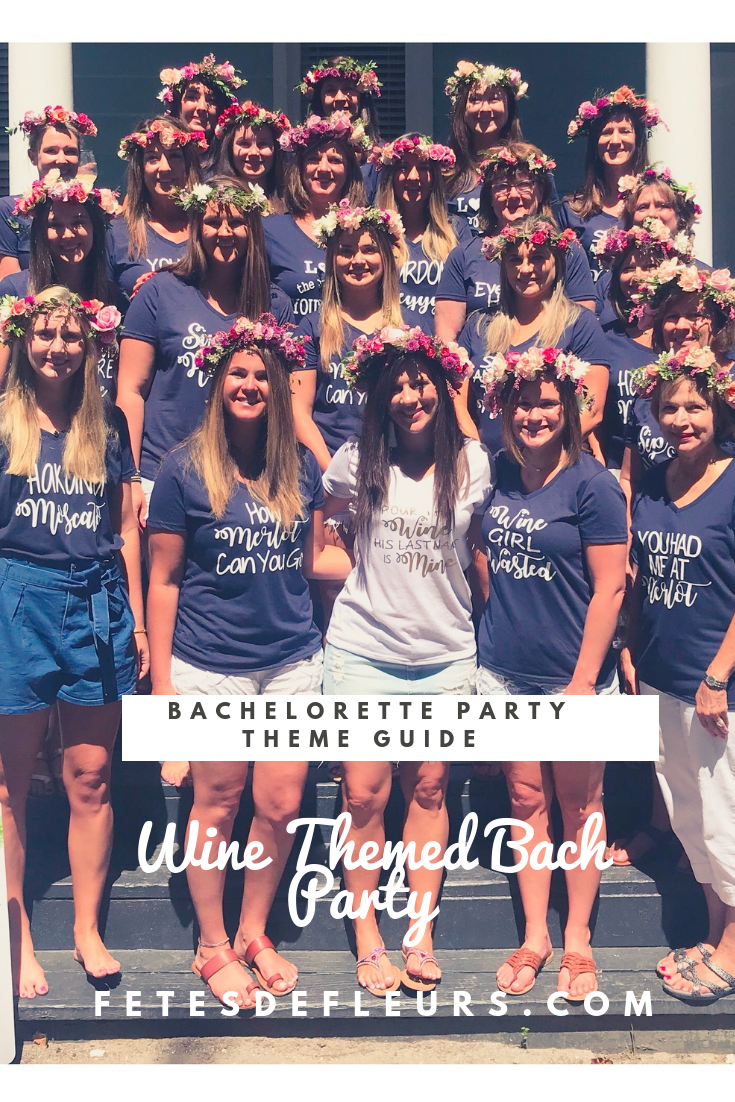 Wine Themed Bach Party