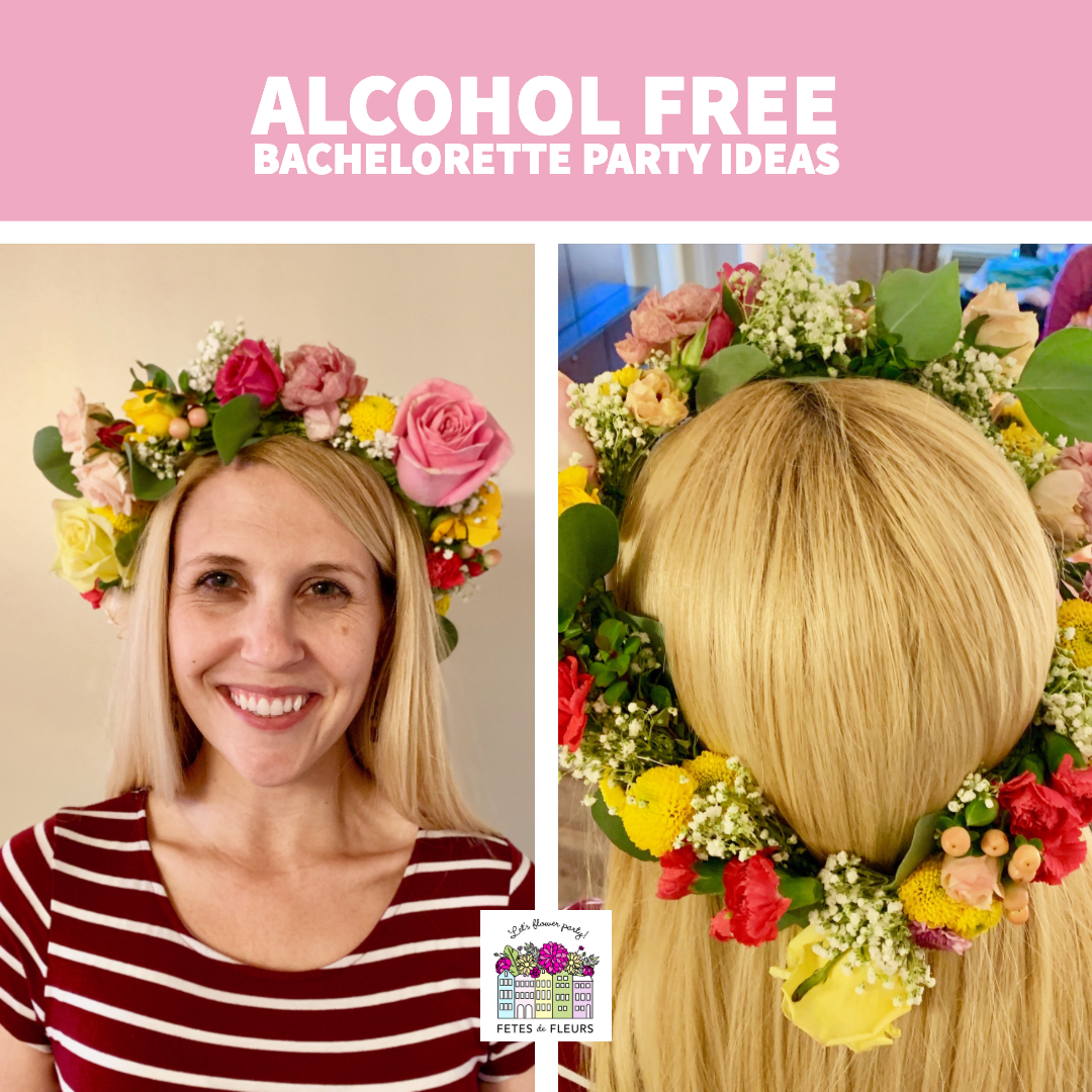 alcohol free bachelorette party ideas