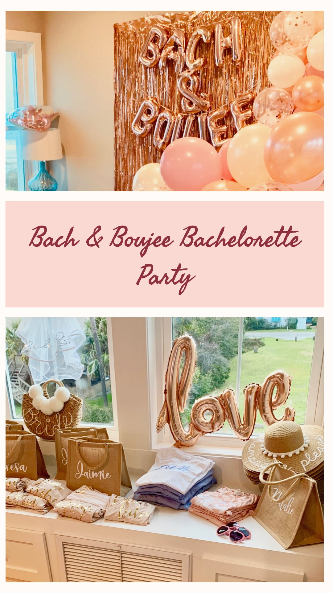 bach and boujee bachelorette party