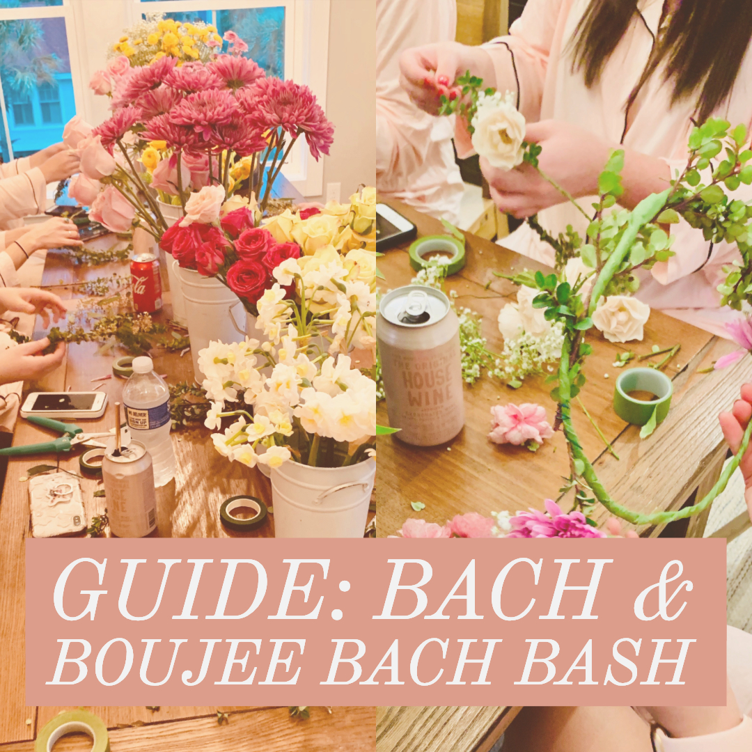 bach and boujee bachelorette party theme