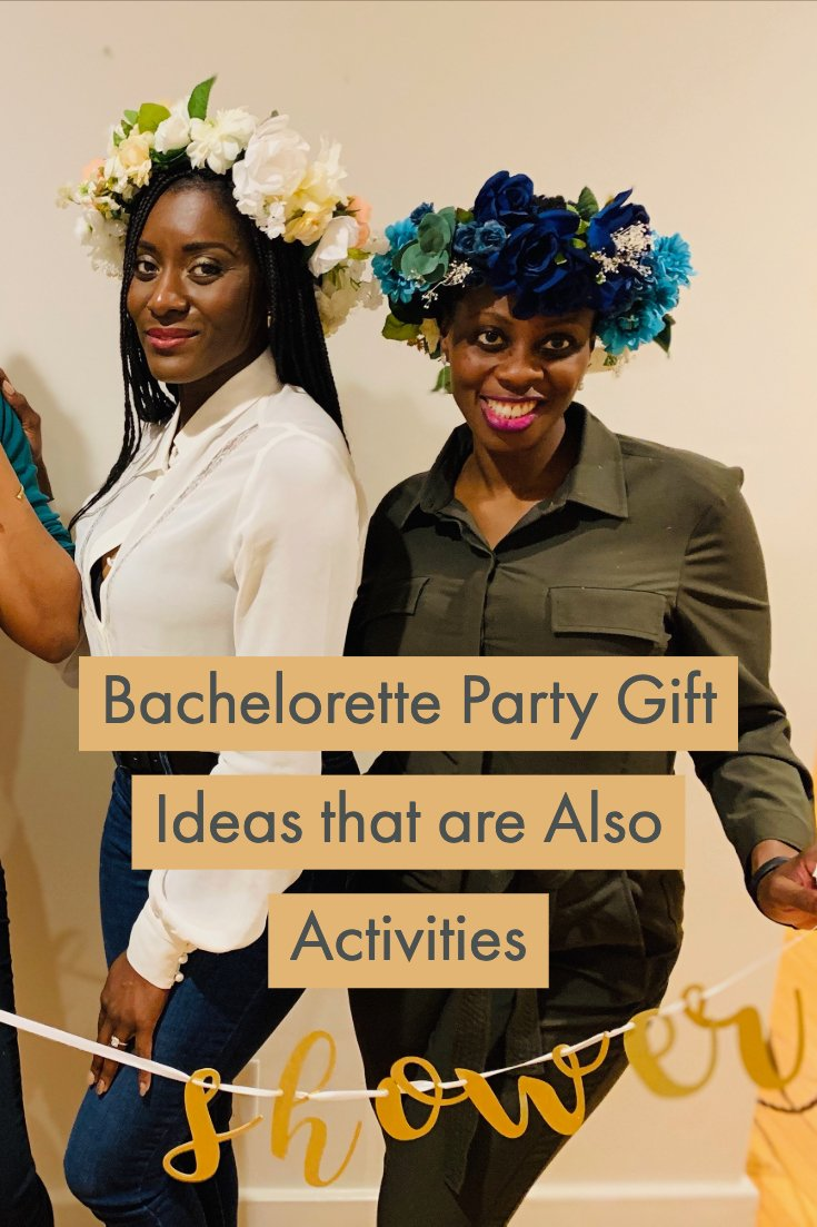 bachelorette party gift ideas that are also activities