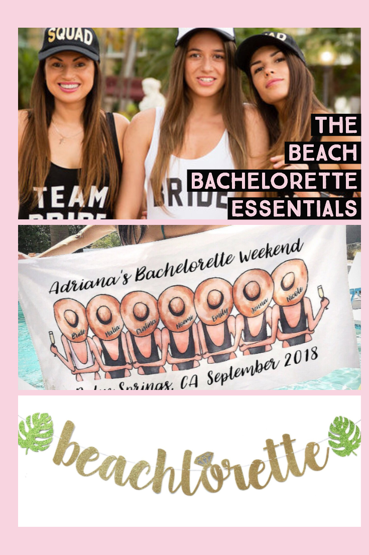 beach bachelorette party essentials