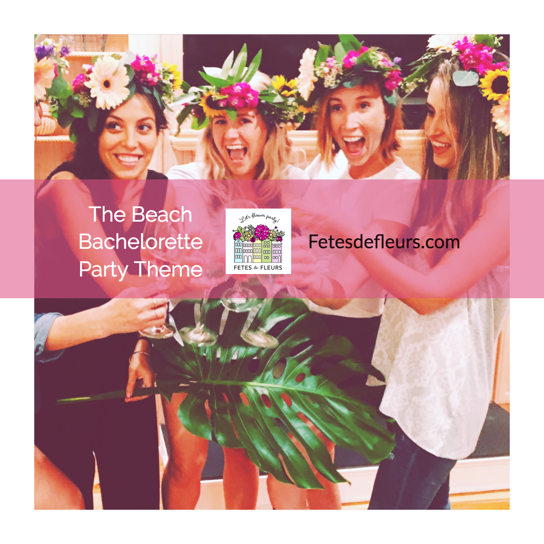 beach bachelorette party theme