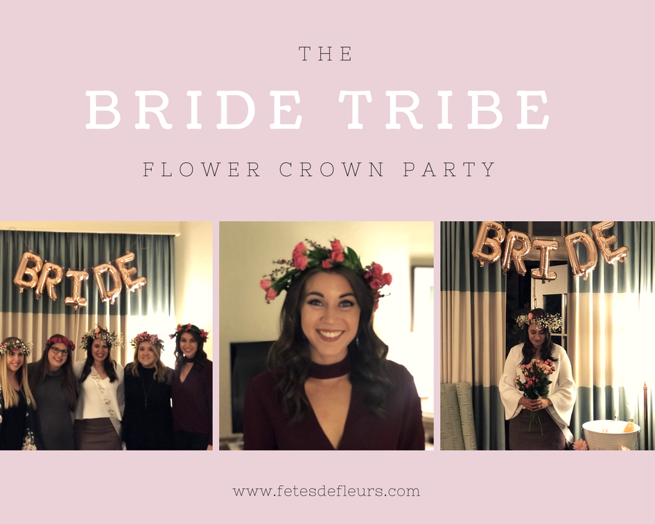 bride tribe party