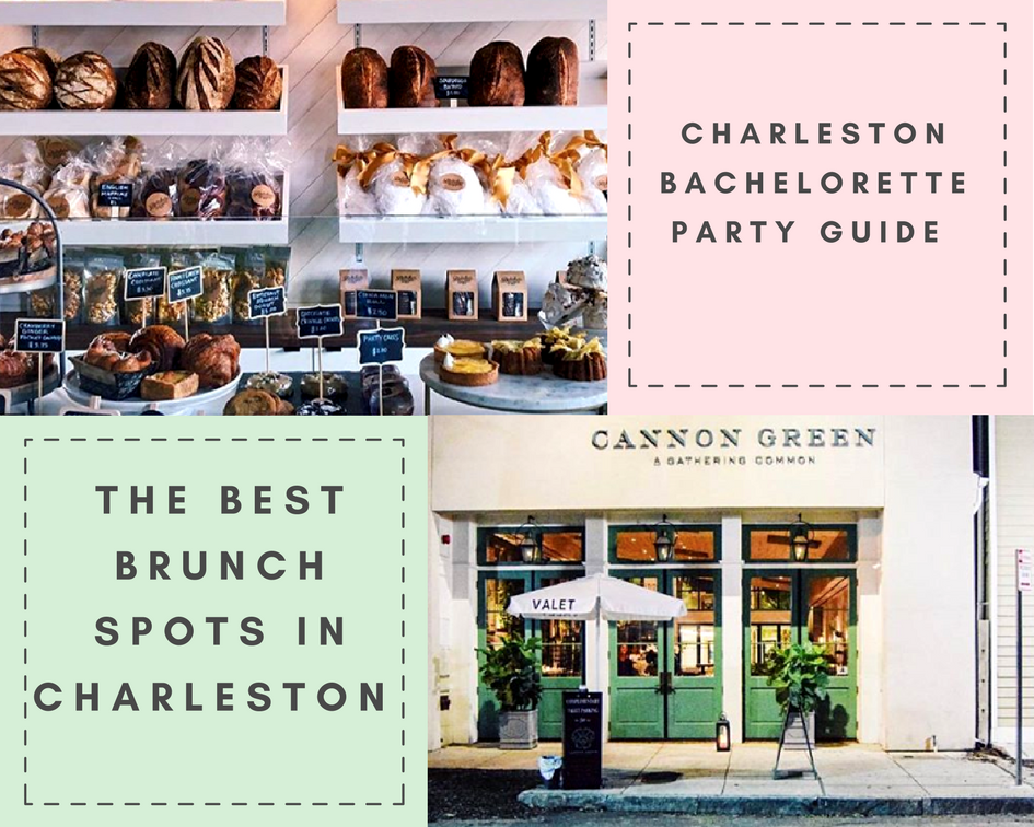 charleston bachelorette party - brunch in charleston sc