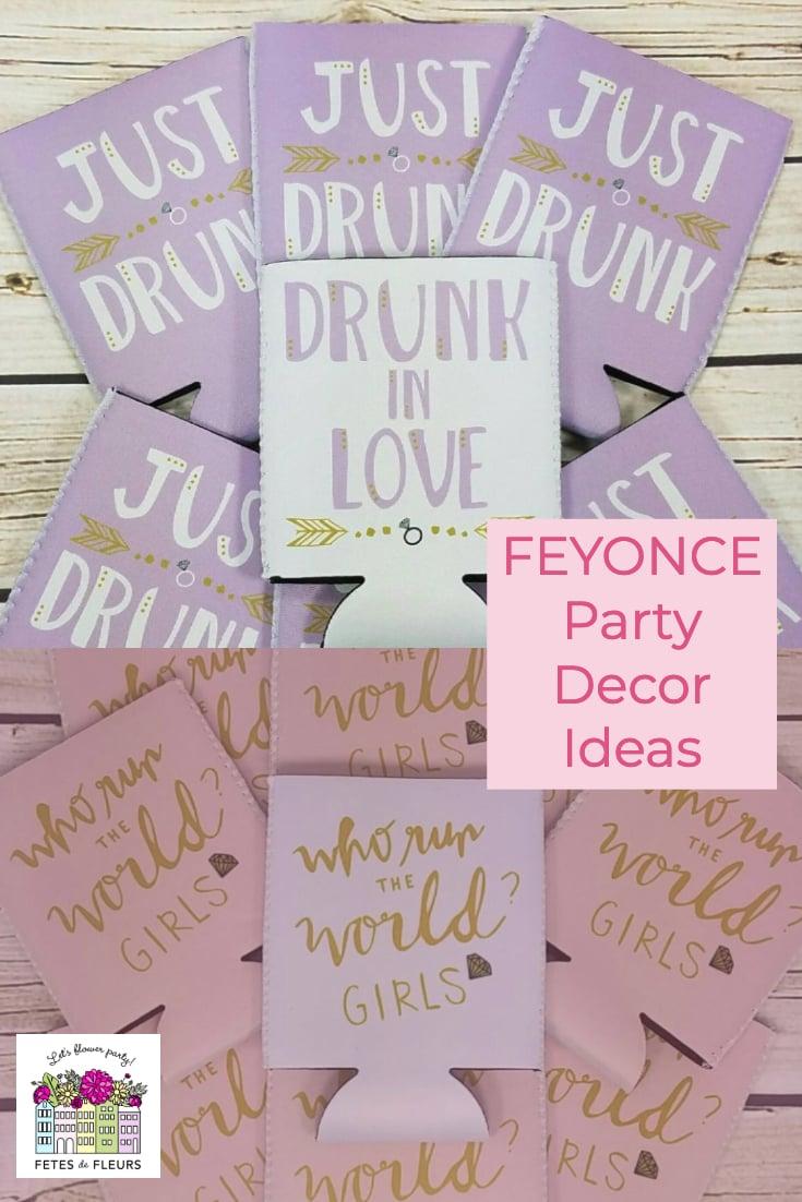 feyonce party decor ideas