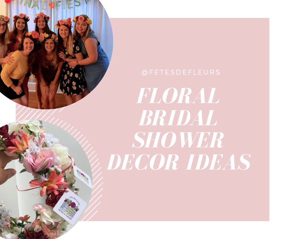 floral bridal shower ideas