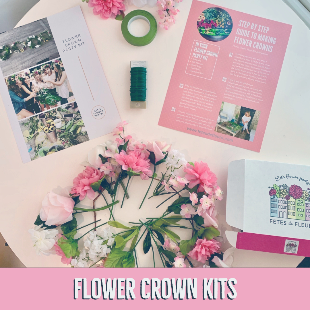 flower crown kits