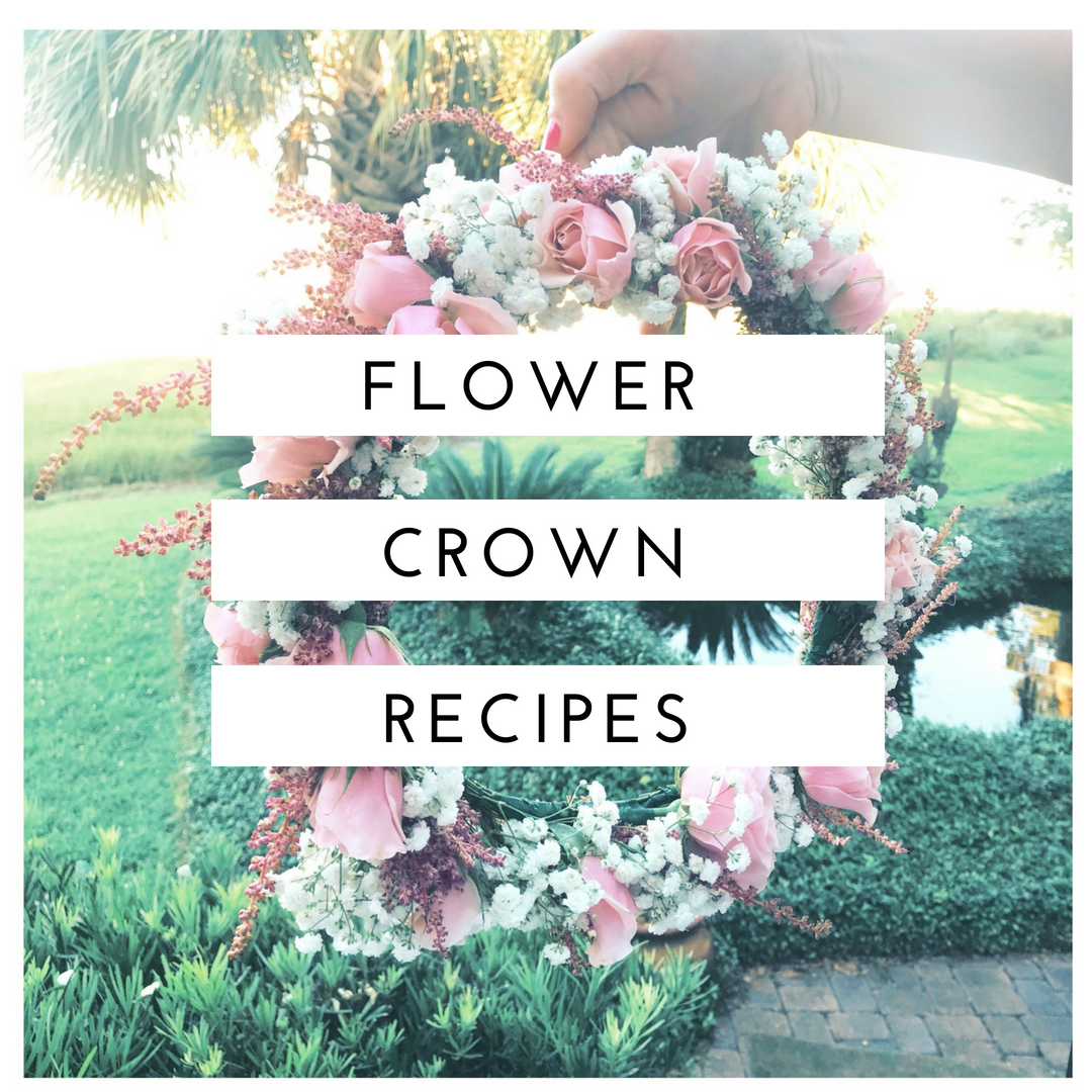 flower crown recipes