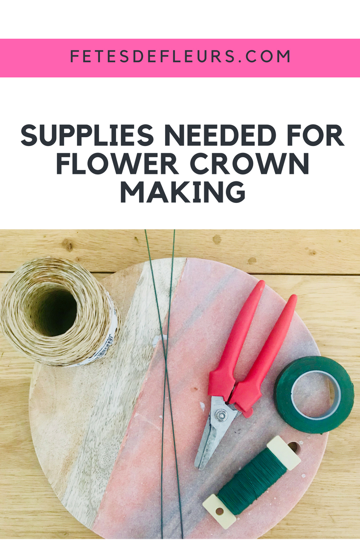 How To Make A Flower Crown Series The Easier Option With The