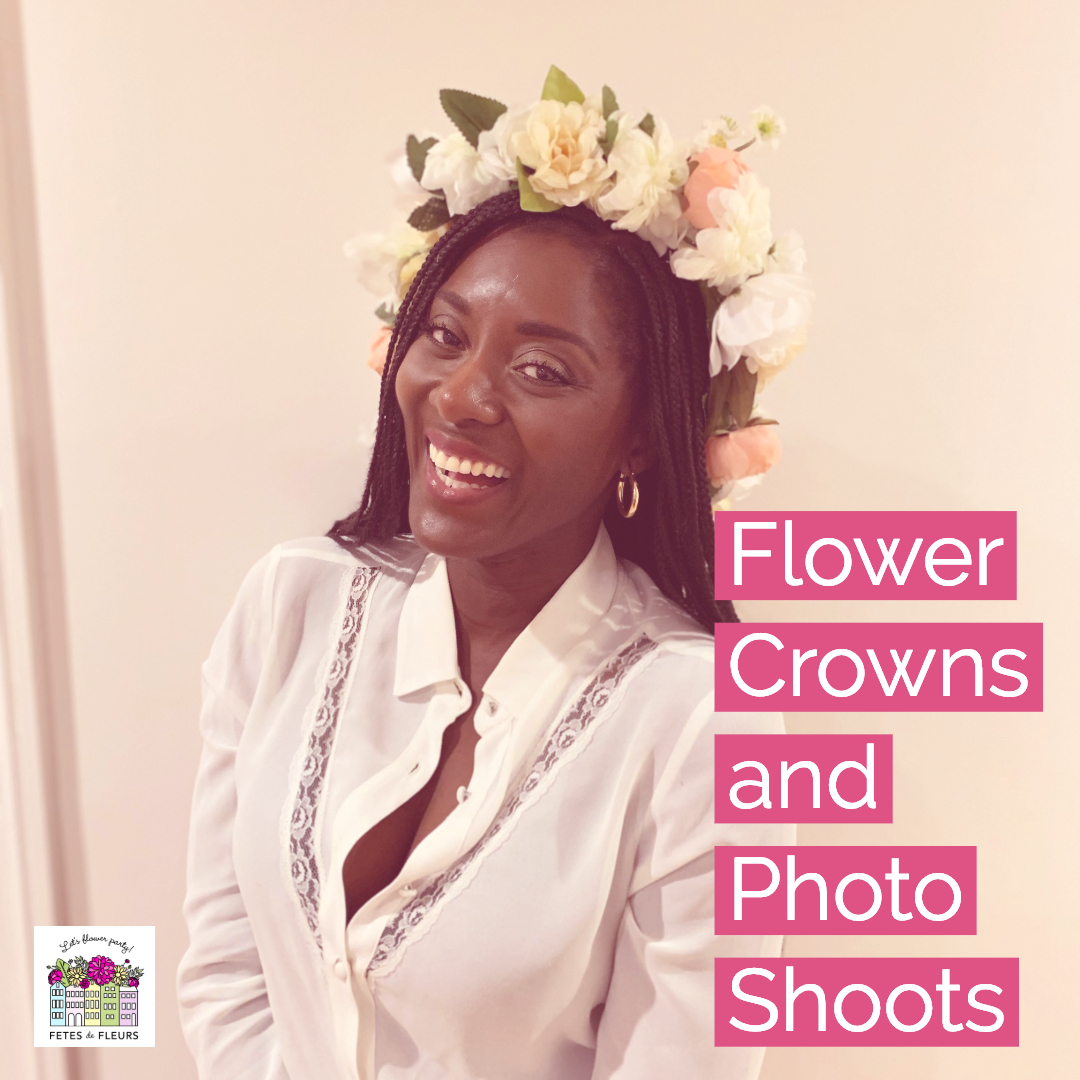 flower crowns and photo shoots for bachelorette party gift ideas