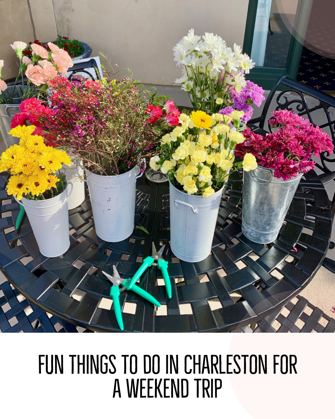 fun things to do in Charleston SC for a weekend trip